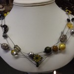 2013 - Floating Necklace - Stringing and Knotting