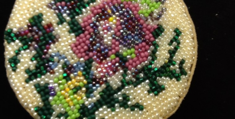 Beadpoint: Beaded Cuff or Box