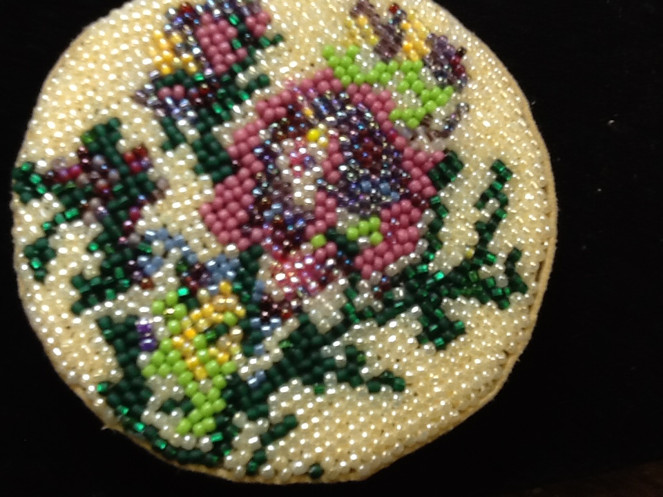 2015 - 1 - Beadpoint - Beaded Cuff or Box
