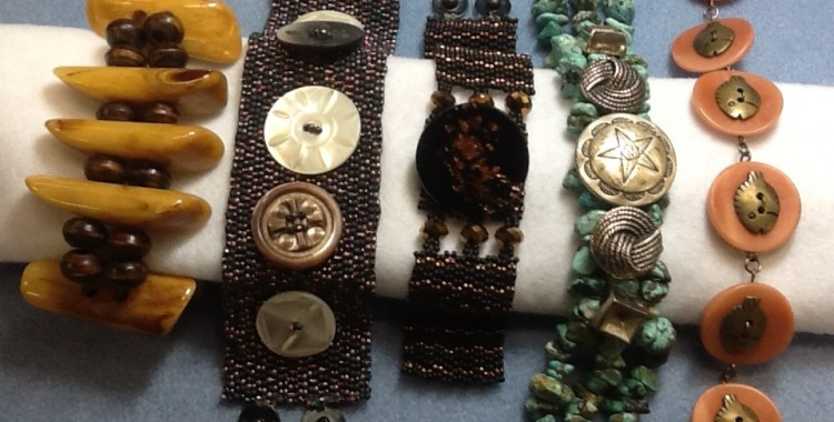 Creating with Buttons:  Bracelets & Cuffs