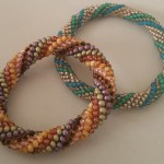 Slip Stitch Beaded Crocheted Rope