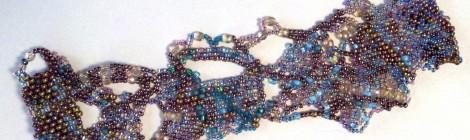 Combining Beadweaving Techniques: Crazy Quilt Bracelet