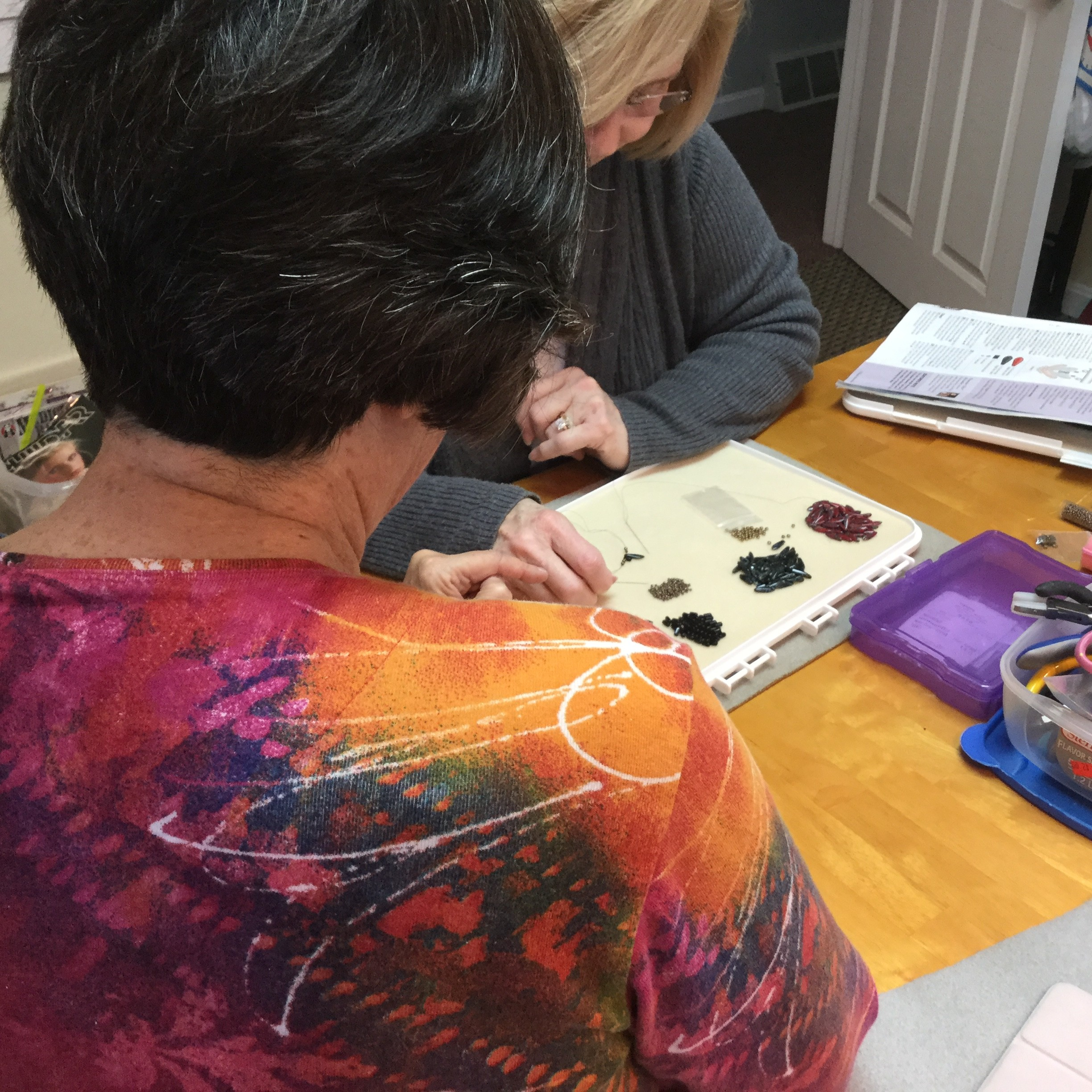 Individual Bead Weaving Tutoring