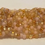 2173 - soup it up right angle weave bracelet