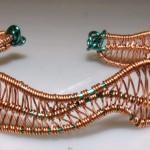 Technique Basics: Weaving a Wire Cuff
