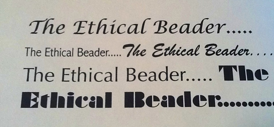 The Ethical Beader