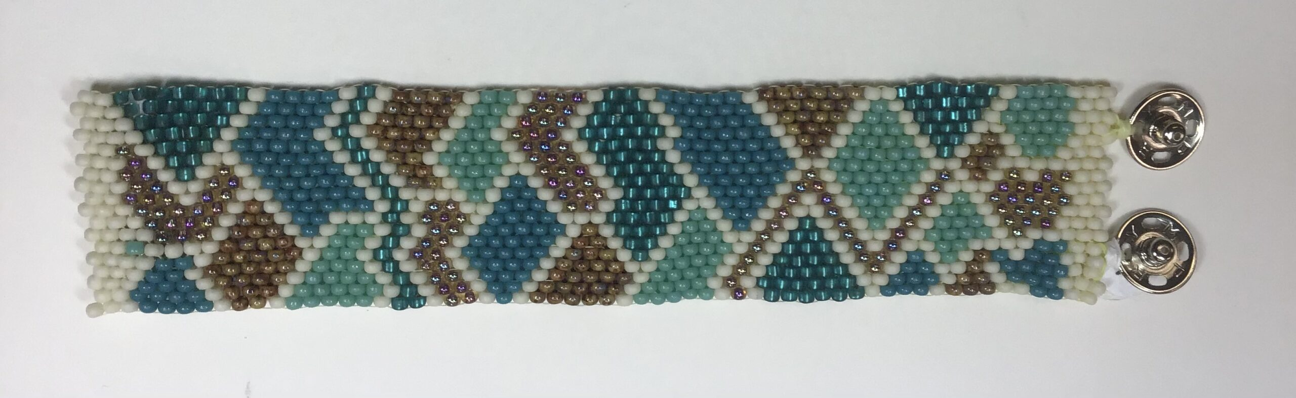 Patchwork Peyote Cuff