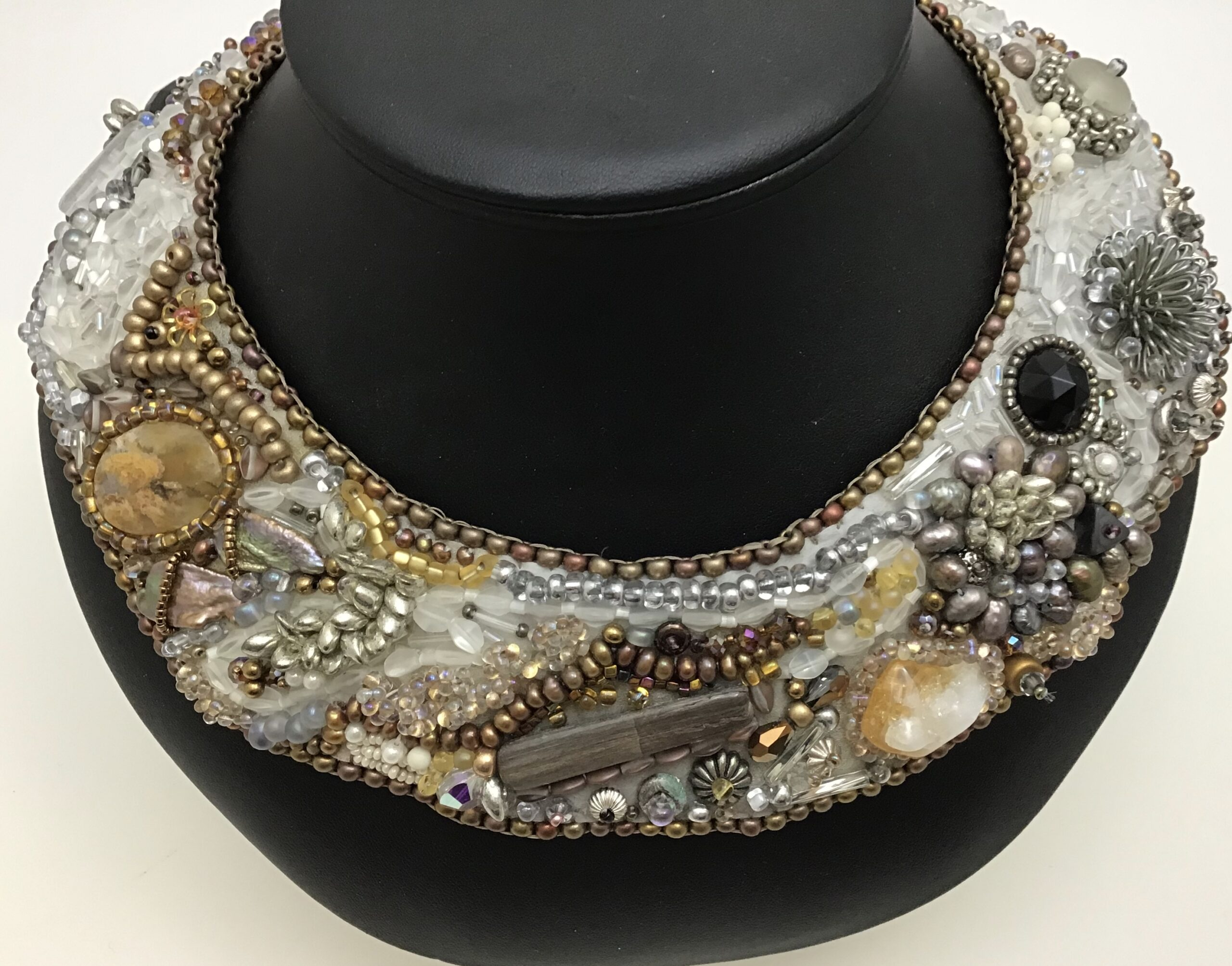 Silver and Gold Collar